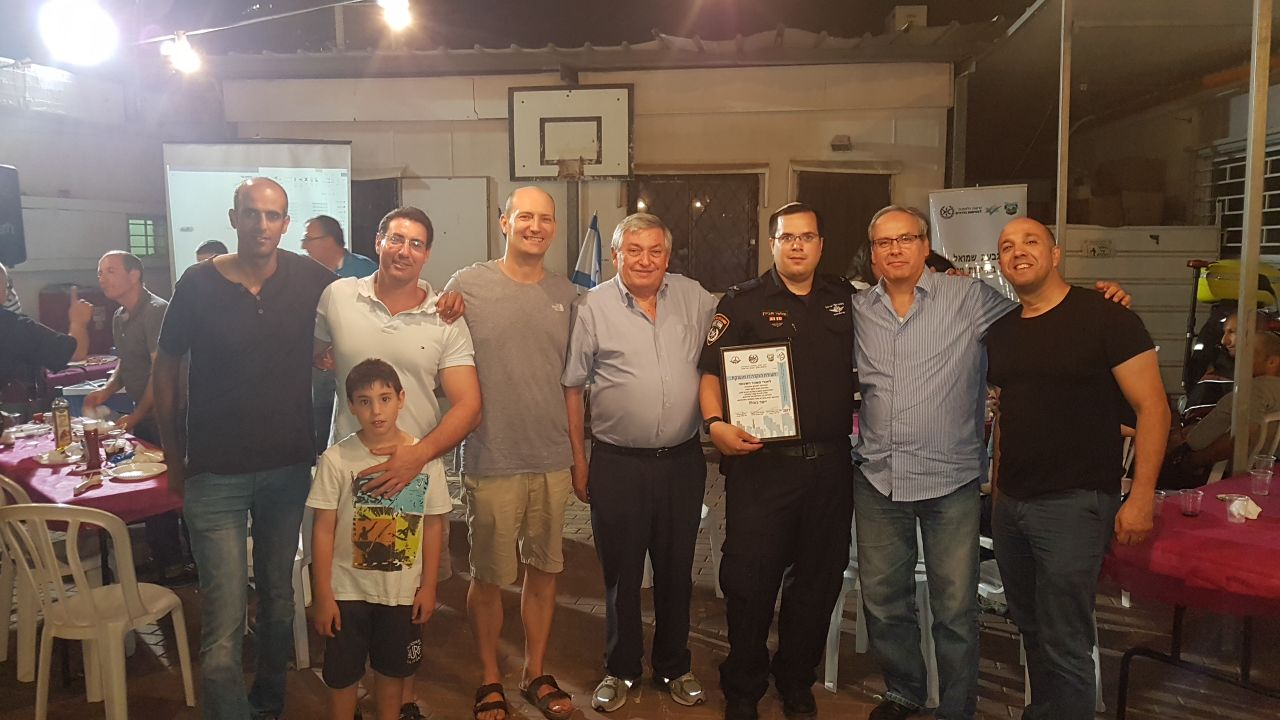 גבעת-שמואל : מוקירים את מתנדבי המשמר האזרחי