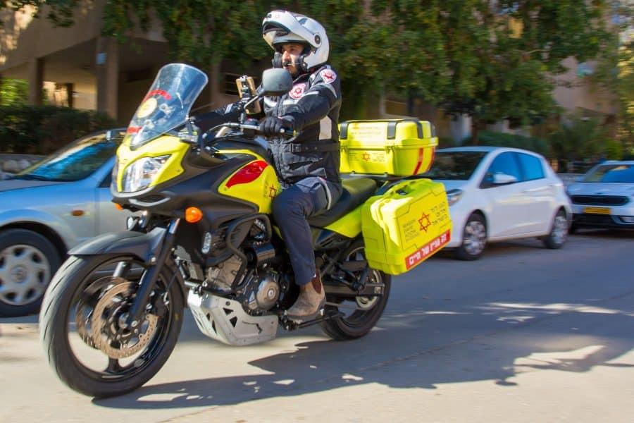 אופנוע מדא  – צילום שחר חזקלביץ תיעוד מבצעי מדא