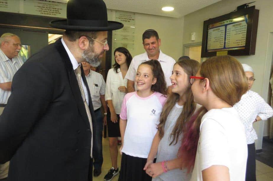 הרב הראשי לישראל הרב דוד לאו