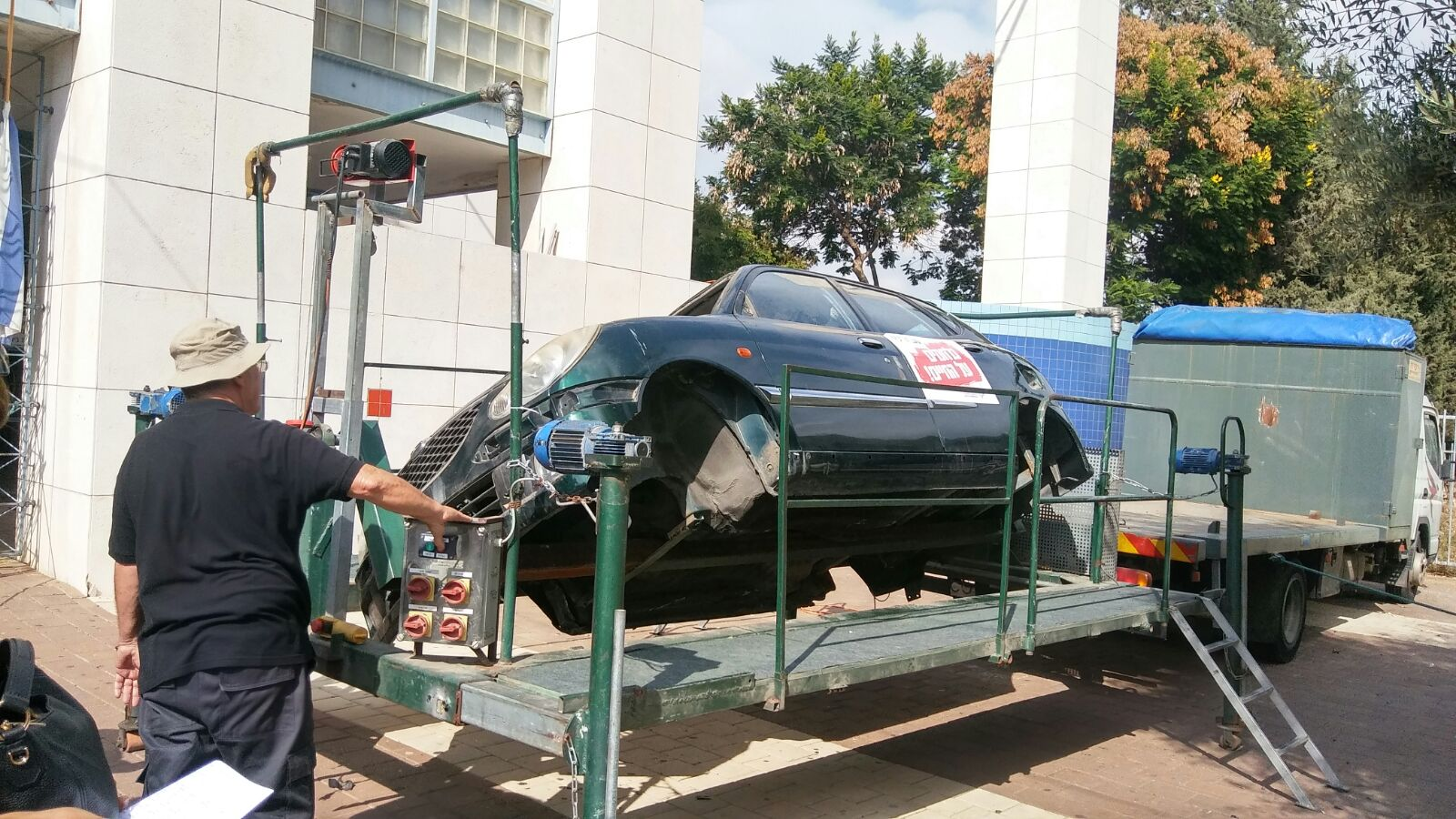 בתיכון מקיף יהוד נלחמים בתאונות