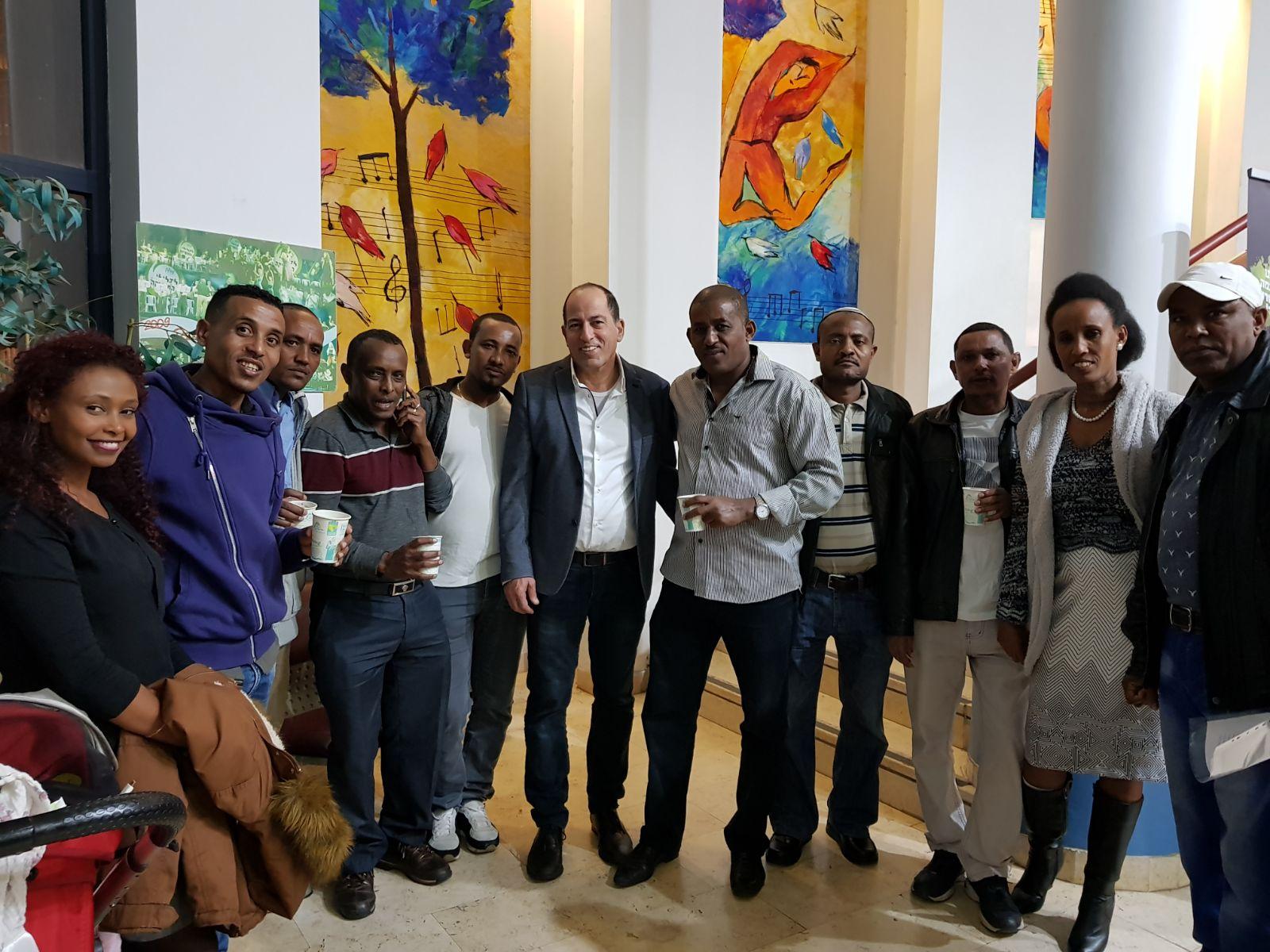 סיירת הורים קהילה אתיופית אור יהודה