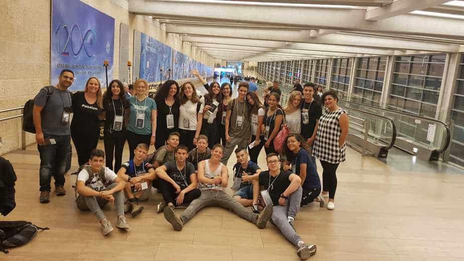 משלחת מחנה jlgb יצאה ללונדון