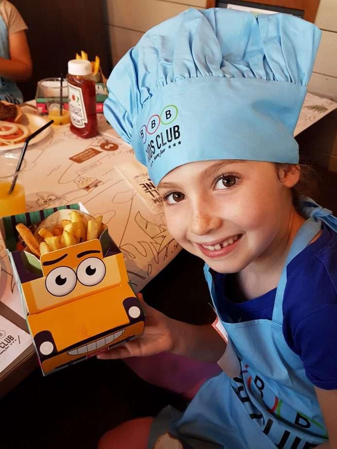 סדנאות שף לילדים ברשת BBB. צילום יוליה פריליק ניב