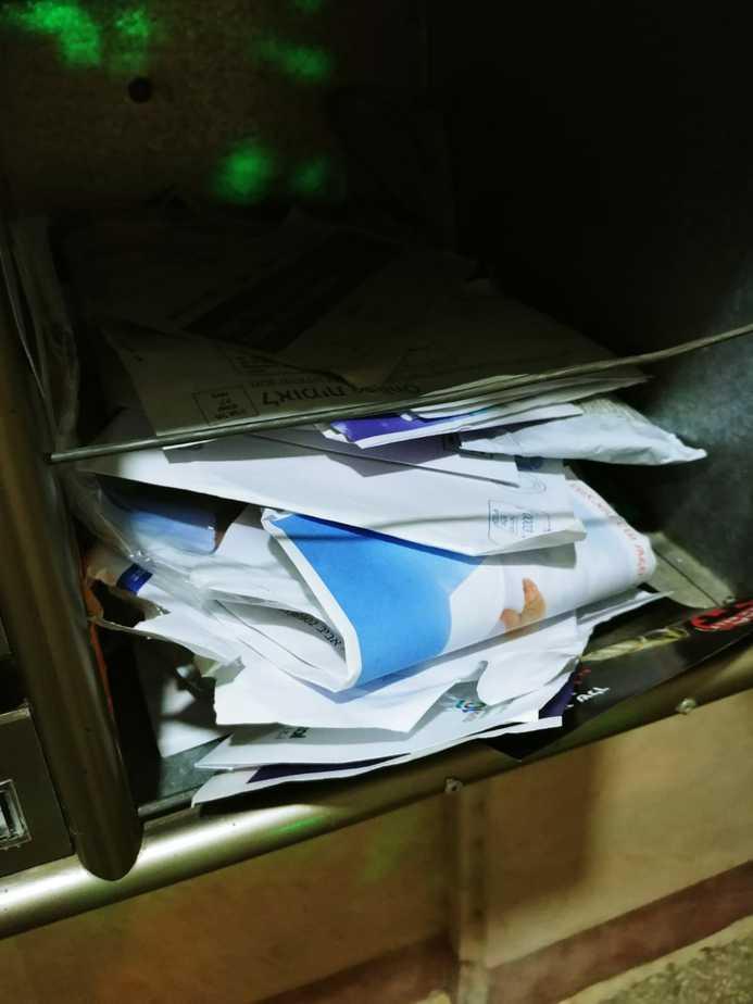 הדואר בשכונת נווה סביון. צילום פרטי