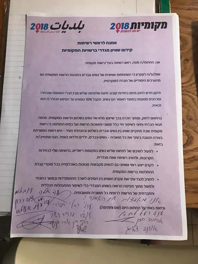 החתימה על האמנה