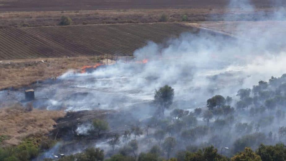 שריפה באור יהודה